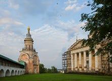 Монастырь Borisoglebsky древнего города Torzhok Стоковые Изображения