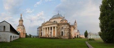 Монастырь Borisoglebsky древнего города Torzhok Стоковое Изображение RF