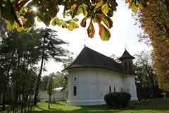 Монастырь Brancoveanu, Румыния Стоковое Фото