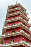Монастырь 10000 buddhas в Гонконге, Китае Стоковое фото RF