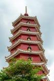 Монастырь 10000 buddhas в Гонконге, Китае Стоковая Фотография RF