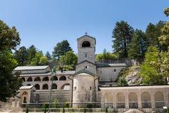 Монастырь Cetinje сербский правоверный монастырь стоковое фото