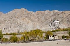 Монастырь Chemrey, Ladakh, Индия Стоковые Изображения RF