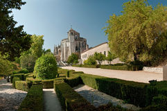 монастырь christ tomar Стоковое Фото