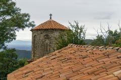 Монастырь Dormition Theotokos в Nekresi Kakheti, Georgia Стоковое Изображение RF