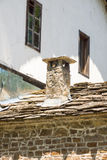 Монастырь Dryanovo в Болгарии Детализирует монашескую архитектуру Стоковые Изображения RF