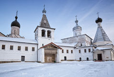 Монастырь Ferapontov Стоковое фото RF