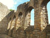 Монастырь Finchale Стоковая Фотография