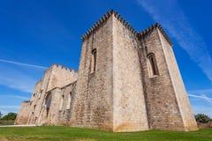 Монастырь Flor da Розы в Crato Принадлежать к рыцарям Hospitaller Стоковые Изображения