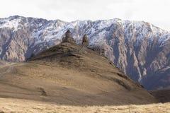 Монастырь Gergety Стоковое Фото