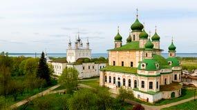 Монастырь Goritsky предположения в Pereslavl Zalessky стоковое изображение