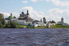 Монастырь Goritsky (Goritsy) Стоковое фото RF