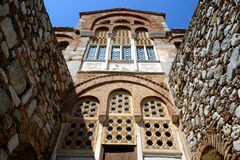 Монастырь Hosios Loukas, Греция Стоковые Фотографии RF