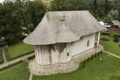Монастырь Humorului правоверный в Молдове стоковая фотография rf