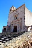 Монастырь II Epazoyucan Стоковая Фотография RF