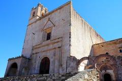 Монастырь III Epazoyucan Стоковые Фотографии RF