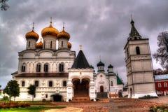 Монастырь Ipatiev святой троицы в Kostroma, России стоковое фото