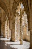 Монастырь Jeronimos в Лиссабоне, Португалии Стоковые Изображения RF