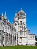 Монастырь Jeronimos Лиссабона Стоковая Фотография RF