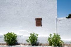 Монастырь Kalopetra, остров Родоса, Rodos, Греции стоковое фото rf