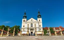 Монастырь Kalwaria Zebrzydowska, места всемирного наследия ЮНЕСКО в Польше стоковая фотография rf
