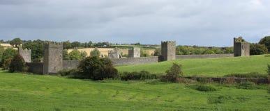Монастырь Kells, Co Ирландия kilkenny Стоковые Изображения RF