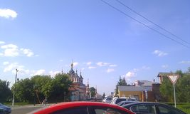 Монастырь Kolomna Golutvin стоковое фото rf