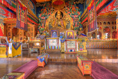 Монастырь Kopan расположенный около Катманду Стоковые Фото