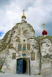 Монастырь Kostomarovsky Svyato-Spassky для женщин Стоковые Фотографии RF