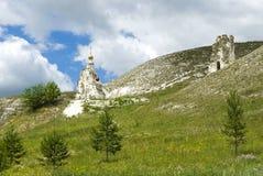 Монастырь Kostomarovsky Svyato-Spassky Стоковые Изображения RF