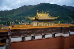 Монастырь Labrang Gannan Стоковое Изображение RF