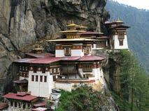 Монастырь lakhang Taktsang стоковое изображение rf