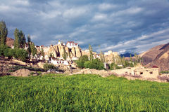 Монастырь Lamayuru, Leh-Ladakh, Джамму и Кашмир, Индия Стоковые Фото
