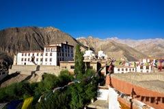 Монастырь Lamayuru, Leh-Ladakh, Джамму и Кашмир, Индия Стоковая Фотография