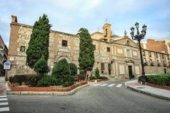 Монастырь Las Descalzas Reales, Мадрида, Испании Стоковые Фото
