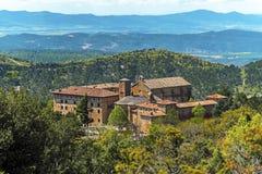 Монастырь Leyre в испанской Наварре Стоковое фото RF