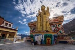 Монастырь Likir в Ladakh, Индии стоковые фотографии rf