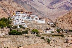 Монастырь Likir Gompa тибетский буддийский в Гималаях стоковое изображение