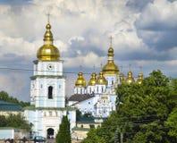 Монастырь Mikhaylovsky kiev Украина стоковые фотографии rf