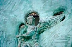 Монастырь Mileseva, деталь известного белого Анджела в камне стоковое изображение rf