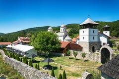 Монастырь Mileseva стоковая фотография