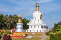 Монастырь Mindrolling, Dehradun Стоковое Изображение