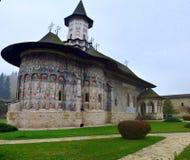 Монастырь Moldovita Стоковые Фото