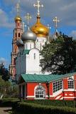 монастырь moscow novodevichy Россия Стоковые Изображения RF