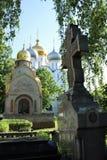монастырь moscow novodevichy Стоковое Изображение