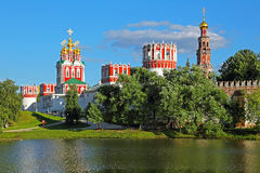 монастырь moscow novodevichy стоковая фотография