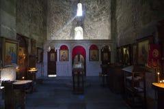 Монастырь Mtsvane стоковое изображение rf