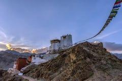 Монастырь Namgyal Tsemo, Leh, Ladakh стоковые фотографии rf