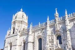 Монастырь nimos ³ Jerà и церковь Santa Maria в Belém, Лиссабоне Стоковое Изображение