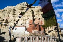 Монастырь Niphu, верхний мустанг, Стоковое фото RF